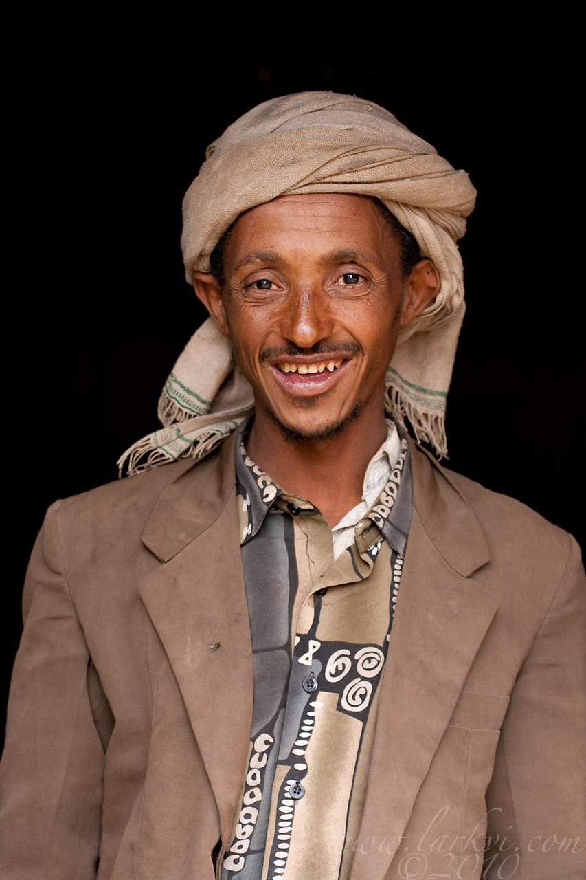 Deacon(?), Andabet, Amhara, Ethiopia, 2009
