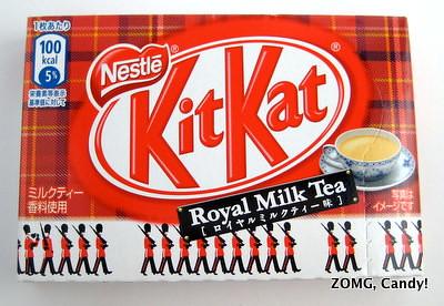 Kit Kat Royal Milk Tea flavor