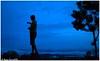Painting the Horizon! (Naseer Ommer) Tags: mist fog canon dusk blues kerala monsoon silhoutte rains munnar canon28135mm naseerommer canon5dmarkii dpintl discoverplanetinternational