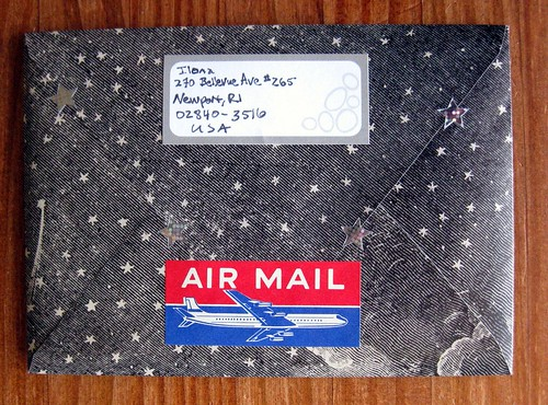 starry air mail