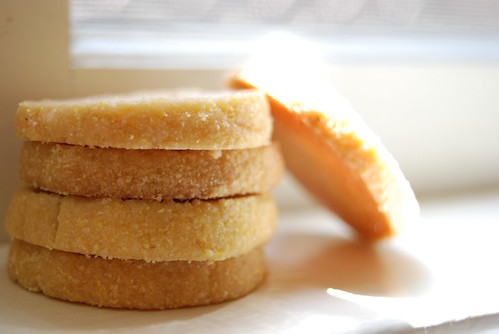 Every Last Cookie: [Cookie 079] Citrus Cornmeal Shortbread