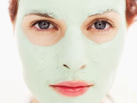 mascara de clara de ovo para a pele