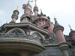 Contreplongée du château