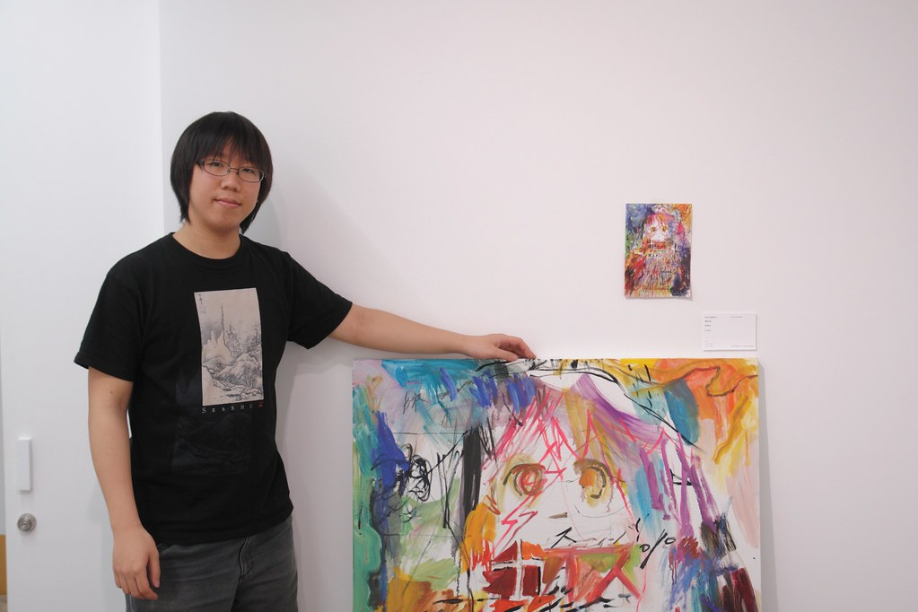 Uso Fujishiro (@lie_) and his painting work