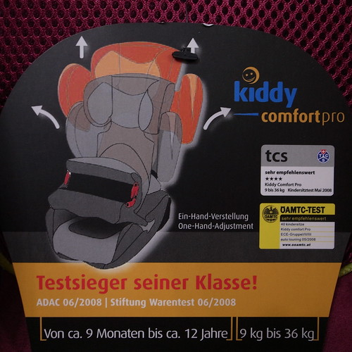 kiddy comfort pro