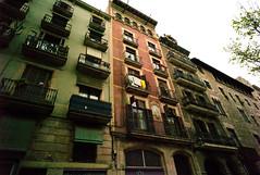 Barcelona (claudio jeldres) Tags: barcelona leica city urban building architecture balcony pic structure m8