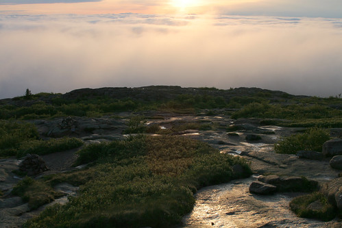 Sunrise over Cadillac Mountain