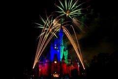 Magic Kingdom - Many Colors (SpreadTheMagic) Tags: fireworks disney wishes wdw magickingdom