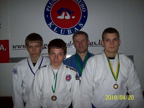 Iš kairės Donatas Kasteckas, Vygantas Narkus, Vytautas Vaškys ir Ramūnas Diburys