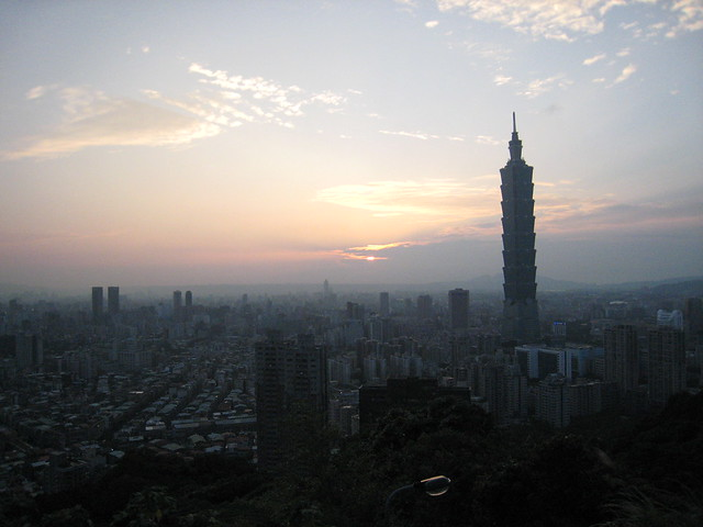 Sneak Peak at Taipei City!