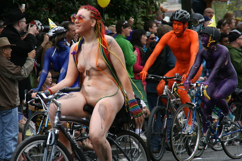 Naked Bikes (The Kozy Shack) Tags: naked nude boobs fremont parade 1000views ...