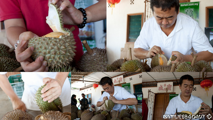 Bao Seng Durian Buffet (Eat all you Can Durian) @ Penang