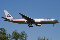 N772AN - 29580 - American Airlines - Boeing 777-223ER - 100617 - Heathrow - Steven Gray - IMG_4272