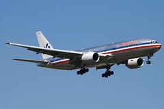 N767AJ - 33539 - American Airlines - Boeing 777-223ER - 100617 - Heathrow - Steven Gray - IMG_4138