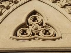 Tri-tri (pablodf) Tags: argentina cementerio rosario triskelion celta triangular triquetra trinacria triskele smbolo trisquel triqueta cltico visitaguiada cementerioelsalvador