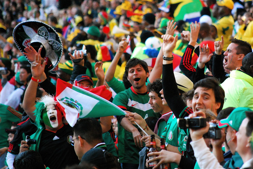 Mexico's Fans at Soccer City by Celso Flores, on Flickr