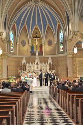 St. Andrews Catholic Church Wedding