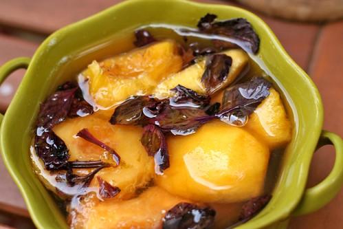 Peaches & Thai Basil