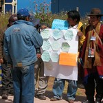 Discussing agricultural research in Bolivia and Peru 04 by