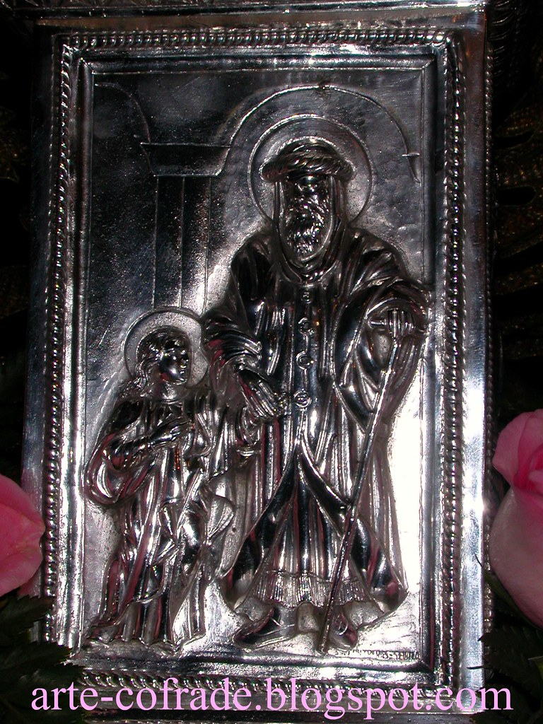 La Virgen Niña y San Joaquín