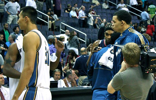 gilbert arenas, etan thomas, washington wizards