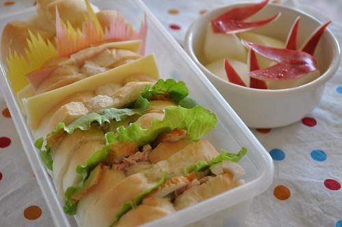 Sandwich Bento 2010.10.6
