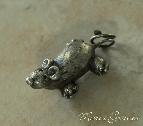 Fine Silver Possum