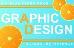 Graphic Design Poster (Stephie Chamberlain) Tags: blue orange inspiration design graphicdesign graphic ad advertisement oranges