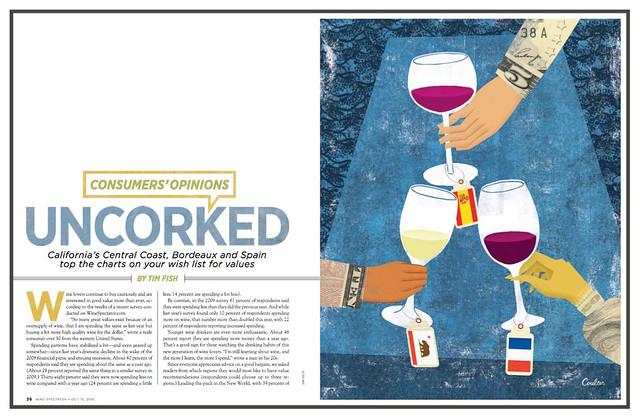 Wine Spectator Layout