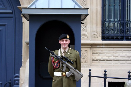 Royal Guard in Luxembourg