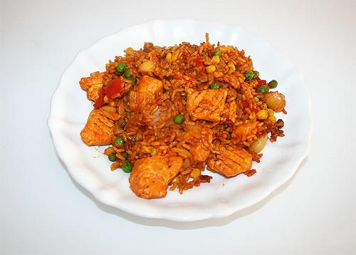 07 - Iglo Hähnchen Paella - fertiges Gericht