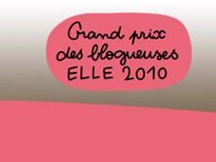 Grand prix des blogueuses ELLE 2010 - version cuisine