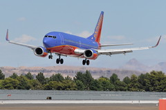 Southwest Airlines (SWA) - Boeing 737-300 - N648SW - McCarran International Airport (LAS) - Las Vegas - September 14, 2010 1 089 RT CRP (TVL1970) Tags: nikon nikond90 d90 nikongp1 gp1 geotagged nikkor70300mmvr 70300mmvr aviation airplane aircraft airliners mccarraninternationalairport mccarranairport mccarran mccarraninternational lasvegas las klas n648sw southwestairlines southwest swa boeing boeing737 boeing737300 b737 b733 737 737300 737300wl boeing7373h4 7373h4 7373h4wl aviationpartners winglets cfminternational cfmi cfm56 cfm563b1