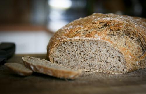 Quick rye bread