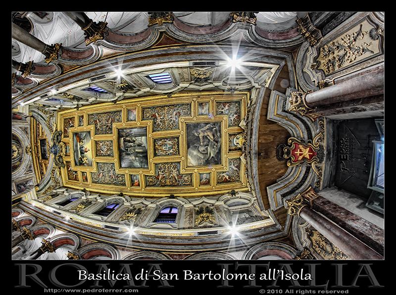 Roma - San Bartolomé en la Isla del Tiber