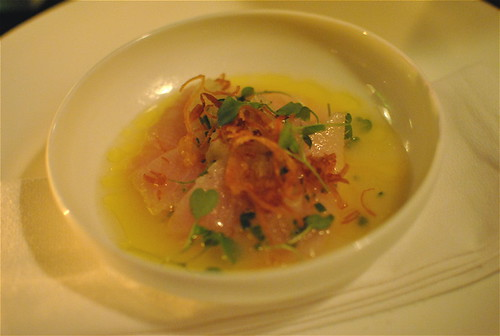 Hamachi Crudo (Real)