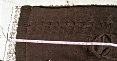 Asymmetrical Faux Fur Vest DIY - 3
