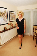 DIA_5571 (Julie Higgins2009) Tags: stockings breasts lingerie dressing transvestite silicon