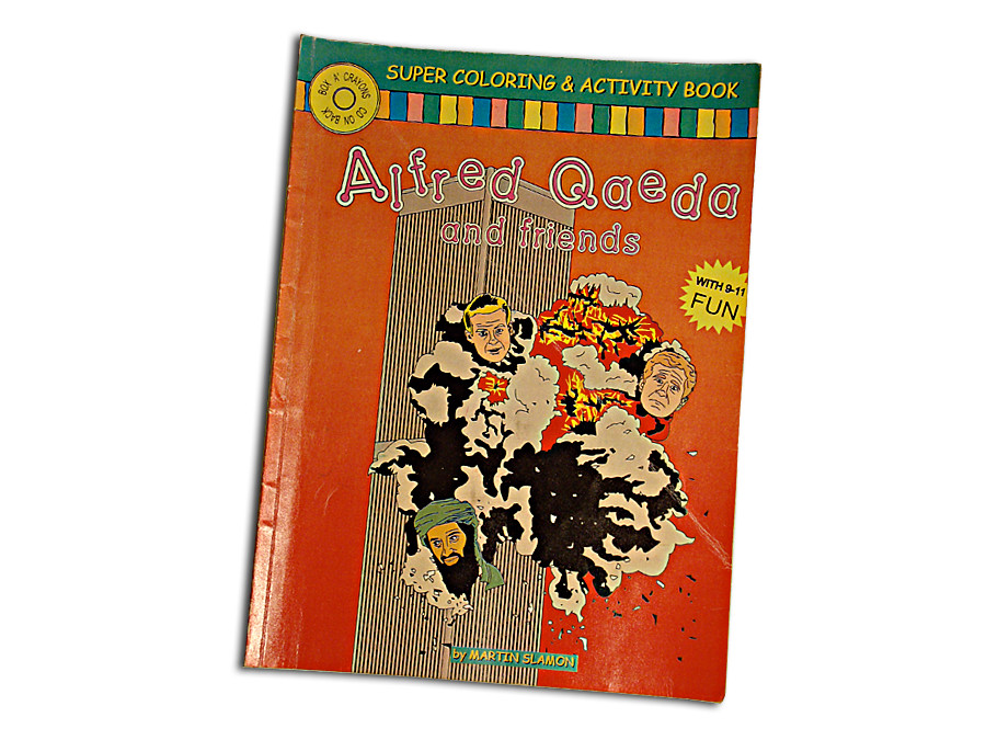 The Adventures of Alfred Qaeda and Friends front cover