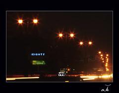 Jaipur by Night (Anil Khubani 'Flyaway') Tags: india night trails jaipur rajasthan pinkcity canon1000d anilkhubaniflyaway