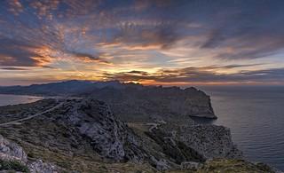 *Nightfall in Mallorca*