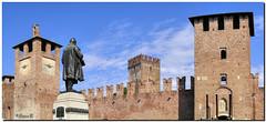 Castel Vecchio (alpiblu) Tags: verona castel vecchio mura