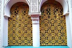 MAROCO 01-2015 151 (Elisabeth Gaj) Tags: maroco012015 elisabethgaj afryka trael marrakech architecture building d windows
