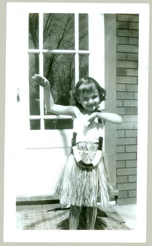 Margie Hillstrom grass skirt