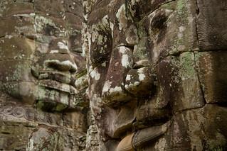Faces of Bayon, Angkor (Siem Reap, Cambodia)