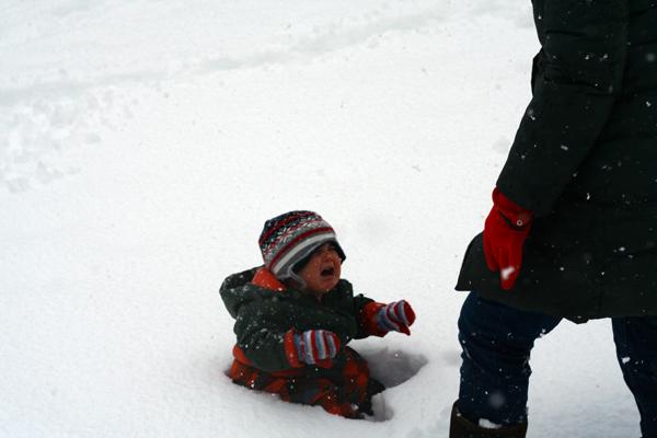 Finn Hates Snow