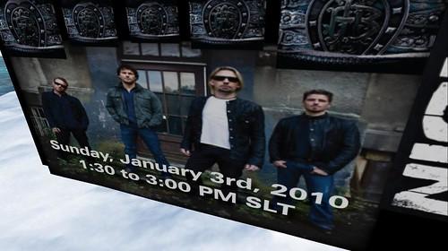 nickelback live jan 3, 2010