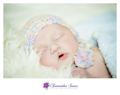 Baby Leo (Samantha Jones Photography) Tags: cute hat newborn knitted smushy