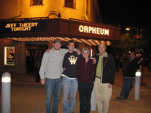 Jeff Tweedy @ Orpheum Theater