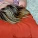 deitando o cabelo